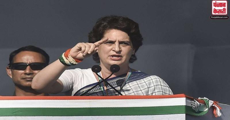 प्रियंका ने CM योगी से किया सवाल, पूछा- अपराध के आंकड़ों पर पर्दा डालने के अलावा क्या किया?