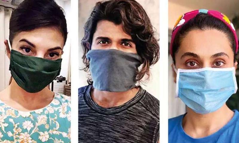 अनलॉक में सारा अली खान से लेकर सोनम कपूर तक ऐसे डिजाइनर मास्क पहने हुए स्पॉट