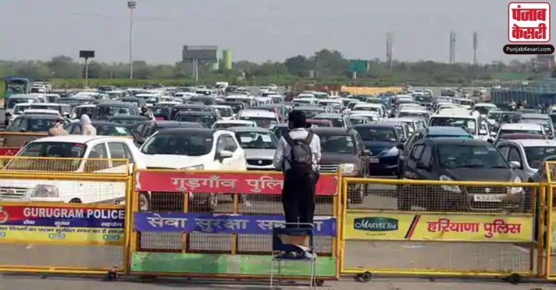 दिल्ली से लगने वाली हरियाणा की सीमाओं को फिर सील कर सकती है खट्टर सरकार