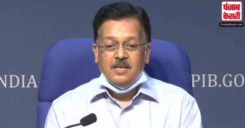 केंद्रीय स्वास्थ्य मंत्रालय ने कहा- देश में कोरोना के 50 फीसदी मामले महाराष्ट्र और तमिलनाडु से