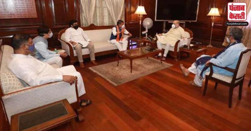 गृहमंत्री से मिले भाजपा प्रतिनिधिमंडल, हेमताबाद विधायक की मौत के मामले में सीबीआई जांच की मांग की