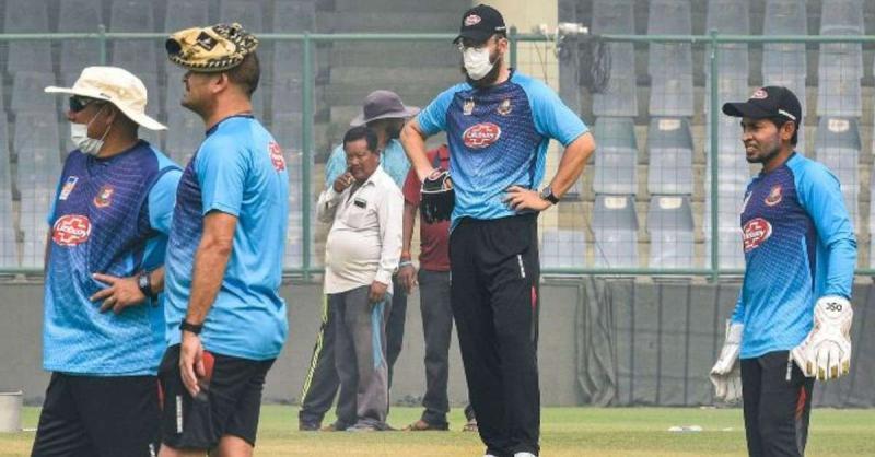बांग्लादेशी खिलाड़ियों ने अभ्यास शुरू किया, स्टेडियम में एक बार में एक खिलाड़ी को जाने दिया गया