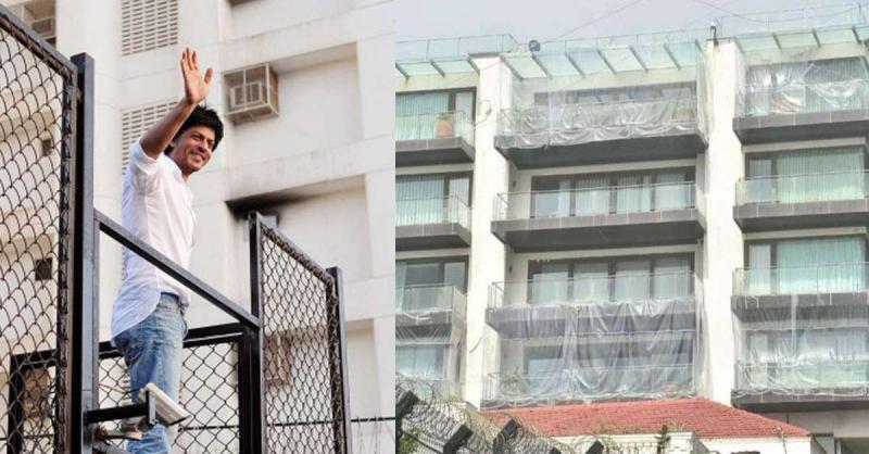 कोरोना की वजह से नहीं बल्कि इस वजह से शाहरुख खान ने अपने बंगले 'मन्नत' को पहनाई है प्लास्टिक शील्ड
