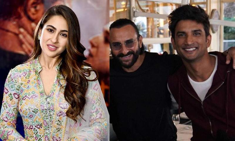 सारा अली खान ने पापा सैफ अली खान और सुशांत को लेकर किया बड़ा खुलासा,बताया दोनों में ये चीज़े एक जैसी