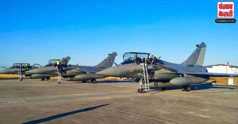 पांच राफेल लड़ाकू विमानों के आने के पहले कड़ी सुरक्षा, अंबाला वायु सेना केंद्र के आसपास धारा 144 लागू