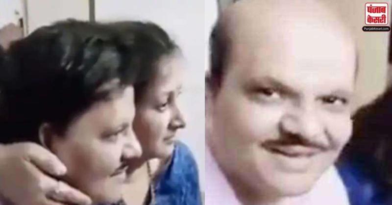 गंजे आदमी ने कुछ इस अंदाज में पत्नी के साथ खिंचवाई फोटो, जिसने भी देखा नहीं रोक पाया अपनी हंसी