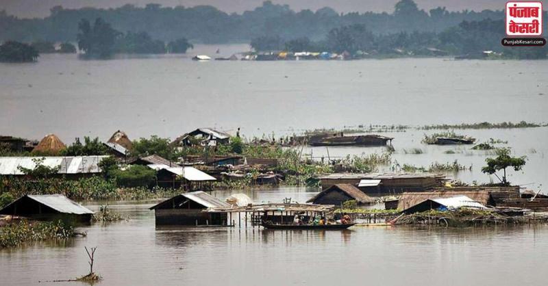 देश में चारों तरफ बाढ़ और बारिश का कहर, बिहार के 14 जिलों में लगभग 50 लाख आबादी बाढ़ से प्रभावित