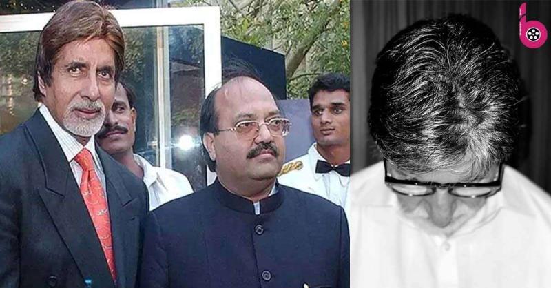 अमिताभ बच्चन ने अमर सिंह के निधन पर दी भावुक श्रद्धांजलि, सिर झुकार लिखा- 'निकट प्राण, संबंध निकट...'
