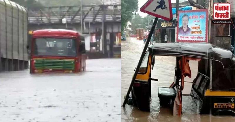 मुंबई में हुई देर रात तेज बारिश ने लोगों को डरा दिया, सोशल मीडिया पर हो रही तस्वीरें और वीडियो वायरल
