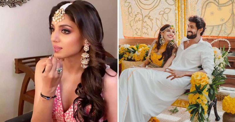 सामने आई राणा दग्गुबाती और मिहिका बजाज की हल्दी-मेहंदी की रस्मों की तस्वीरें ,इस दिन रचाएंगे बहुबली शादी