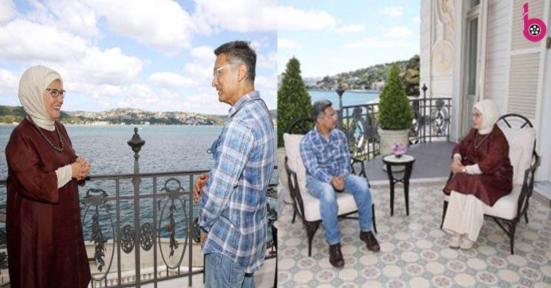 तुर्की की फर्स्ट लेडी अमीन अर्दोगान से आमिर खान ने की मुलाकात, अब हो रहे हैं जमकर ट्रोल