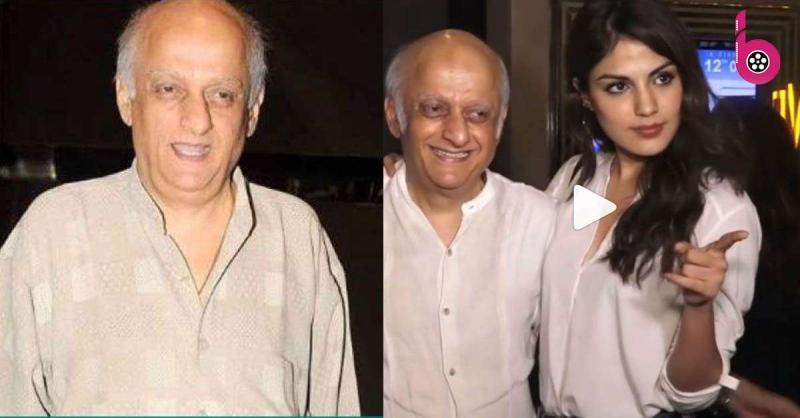 महेश भट्ट के बाद अब मुकेश भट्ट के साथ रिया चक्रवर्ती का पुराना वीडियो हुआ वायरल, गले लगाती आई नजर