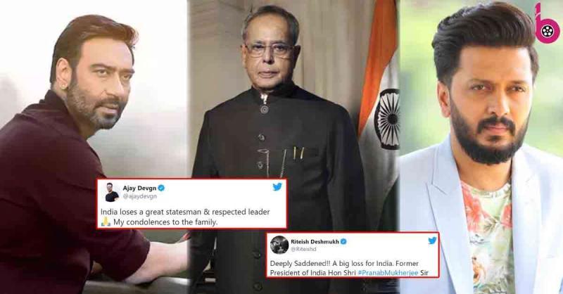 प्रणब मुखर्जी के निधन से दुखी हुआ बॉलीवुड,पूर्व राष्ट्रपति को सेलेब्स ने इस तरह दी श्रद्धांजलि