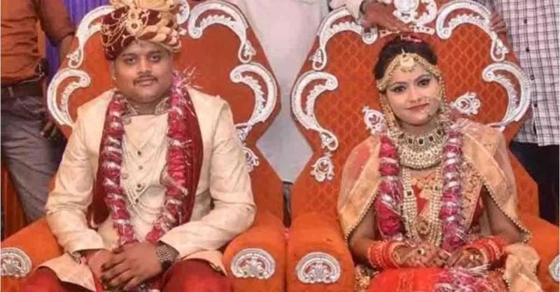 विकास दुबे कांड : पुलिस एनकाउंटर में मारे गये अमर दुबे की पत्नी निकली नाबालिग