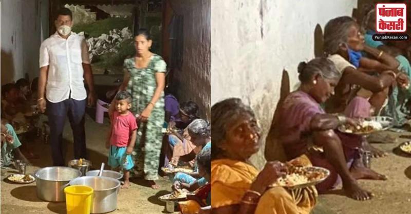 यह किसान परिवार कोरोना काल में पिछले 150 दिनों से असहाय लोगों को खिला रहा है खाना