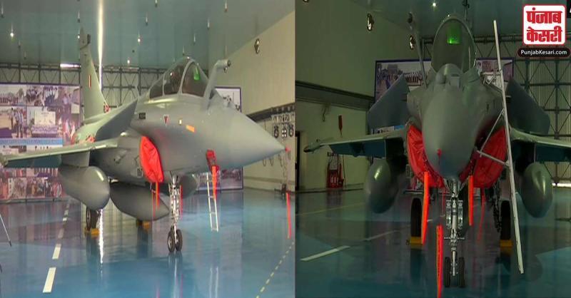 भारतीय वायुसेना में आज औपचारिक रूप से शामिल होंगे राफेल विमान, ये मेहमान समारोह में लेंगे हिस्सा