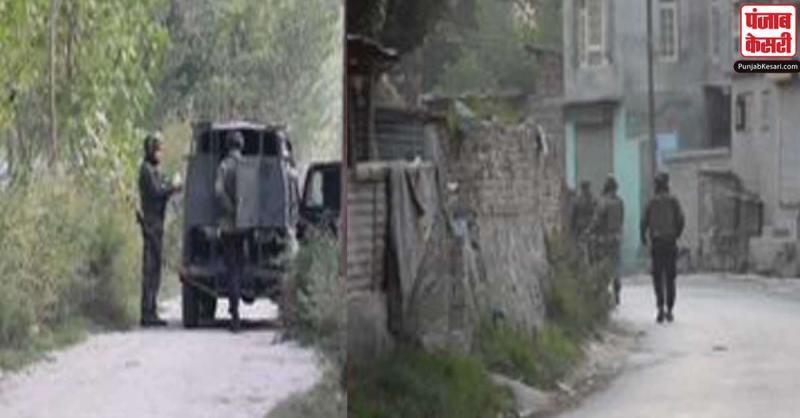 जम्मू-कश्मीर के पुलवामा में एक बार फिर से आतंकियों और सुरक्षाबलों  के बीच मुठभेड़ शुरू