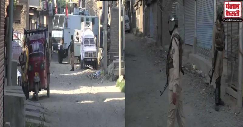 श्रीनगर में एनकाउंटर के दौरान सुरक्षा बलों ने 3 आतंकियों को मार गिराया, CRPF के दो जवान घायल