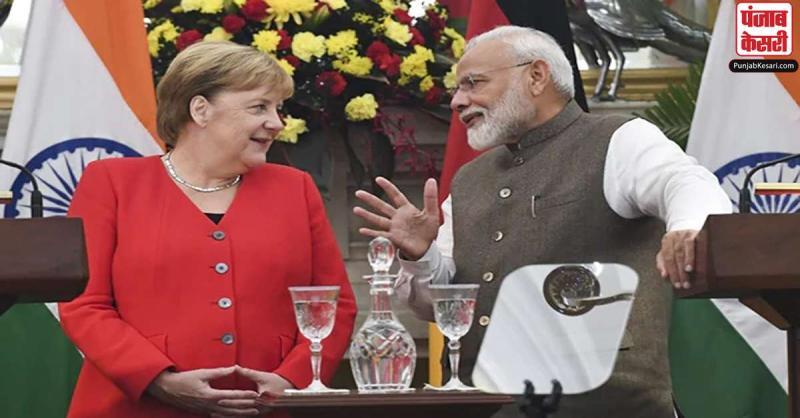 जर्मन चांसलर एंजेला मर्केल ने प्रधानमंत्री मोदी को 70वें जन्मदिवस की शुभकामनाएं दीं