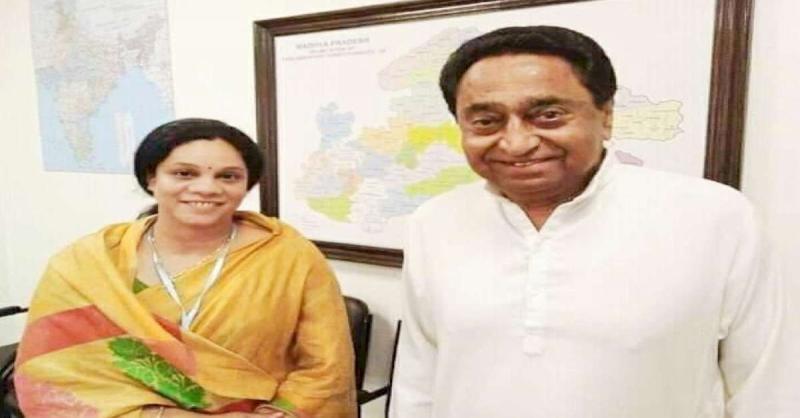 मध्य प्रदेश : भाजपा की पूर्व विधायक पारुल साहू ने कमलनाथ से की मुलाकात, कांग्रेस में हुई शामिल