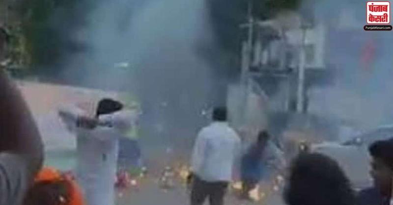 पीएम मोदी के जन्मदिन के जश्न में हादसा, गैस से भरे गुब्बारे फूटे, कई बीजेपी कार्यकर्ता घायल