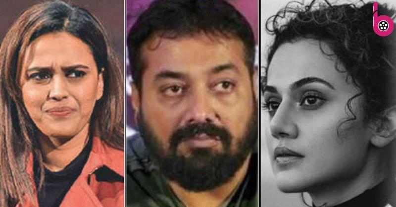 तापसी पन्नू, स्वरा भास्कर यौन शोषण के आरोपों के बाद अनुराग कश्यप के समर्थन में आई सामने