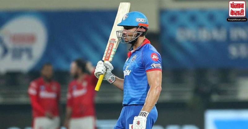 IPL-13: स्टोइनिस की 21 गेंदों में 53 रनों की तूफानी पारी की बदोलत दिल्ली ने पंजाब के सामने 153 रनों का रखा लक्ष्य