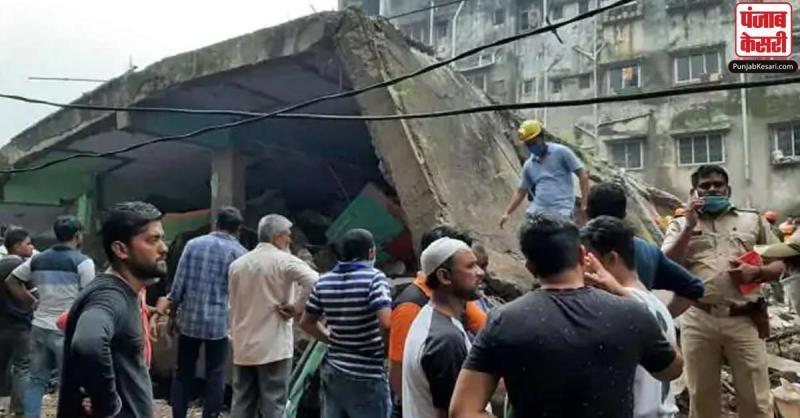 महाराष्ट्र : भिवंडी में इमारत गिरने से 10 लोगों की मौत, रेस्क्यू ऑपरेशन जारी