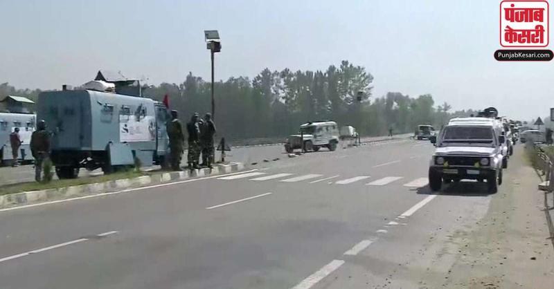 जम्मू-कश्मीर के नौगाम में CRPF की टीम पर आतंकी हमला, इलाके की हुई घेराबंदी