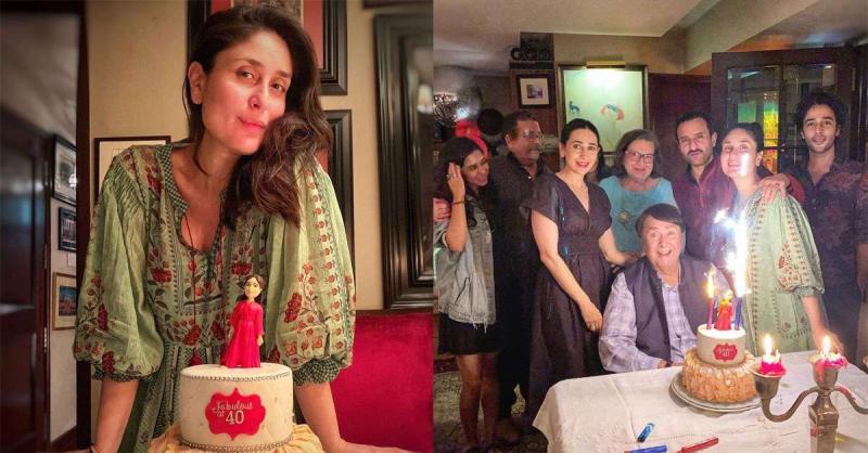 करीना कपूर ने अपना 40वां बर्थडे मनाया परिवार संग,बिना मेकअप लुक में भी ढाया कहर
