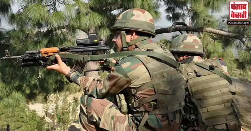 जम्मू-कश्मीर : सुरक्षा बलों के साथ मुठभेड़ में एक आतंकवादी ढेर, सर्च ऑपरेशन जारी