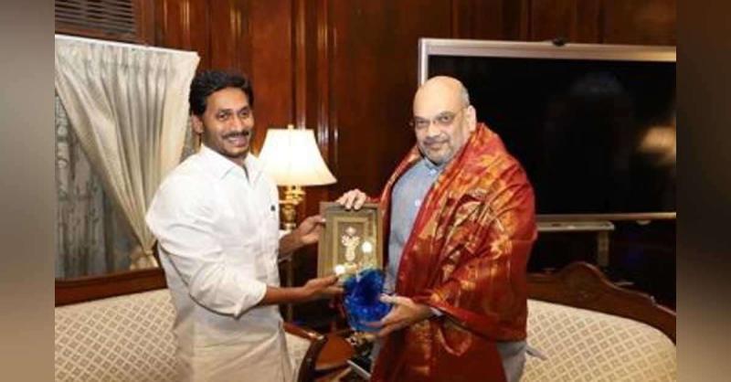 आंध्र प्रदेश के CM रेड्डी ने अमित शाह से की मुलाकात, इन मुद्दों पर हुई चर्चा