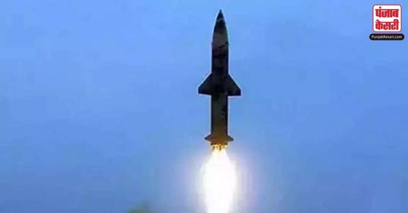 भारत ने किया स्वदेशी पृथ्वी-2 मिसाइल का सफल परीक्षण