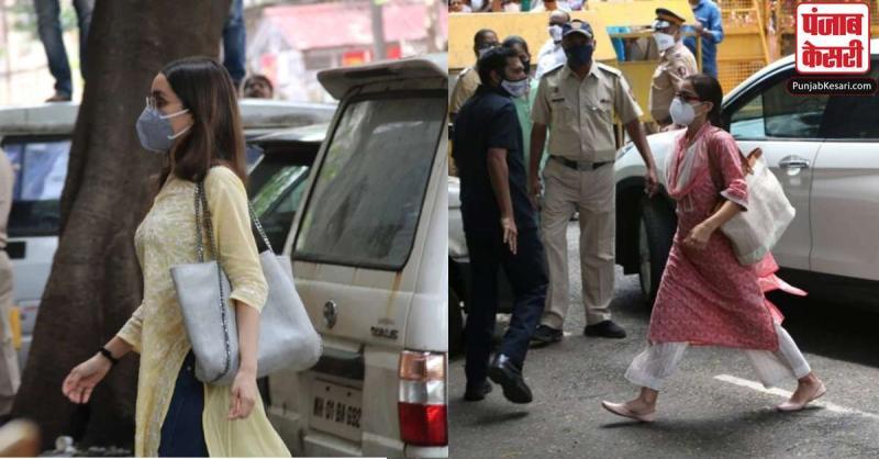 ड्रग केस : अभिनेत्री श्रद्धा कपूर और सारा अली खान पर एनसीबी ने दागे तीखे सवाल , पूछताछ जारी