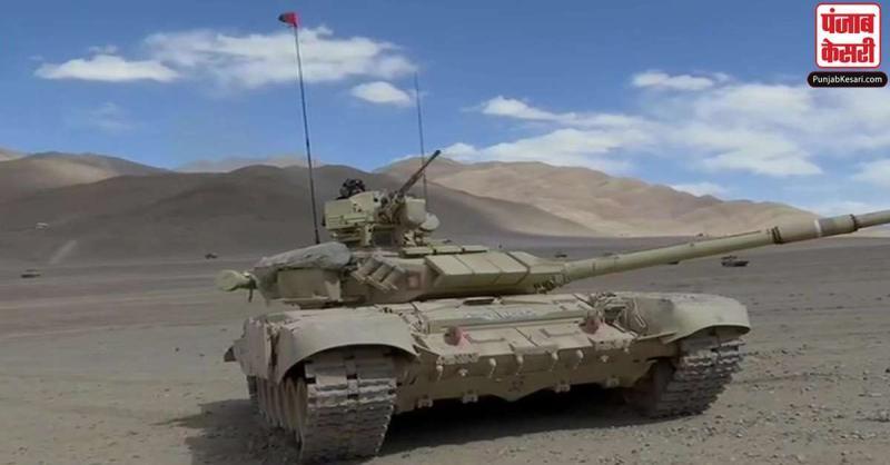 चीन को जवाब देने के लिए भारत पूरी तरह तैयार, लद्दाख में तैनात किए T-90 और T-72 टैंक