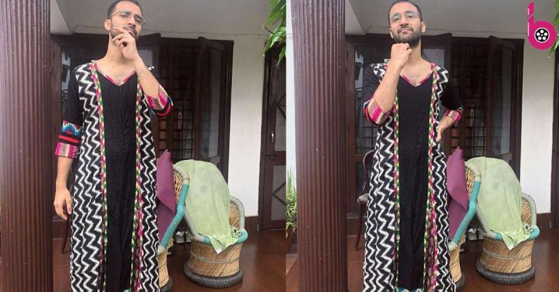 Raghav Juyal ने पहना मां का सलवार सूट, यूजर्स ने फनी कॉमेंट्स कर जमकर लिए मजे