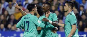 Real Madrid Thrash Real Zaragoza 4 0 To Reach Quarter Finals Of