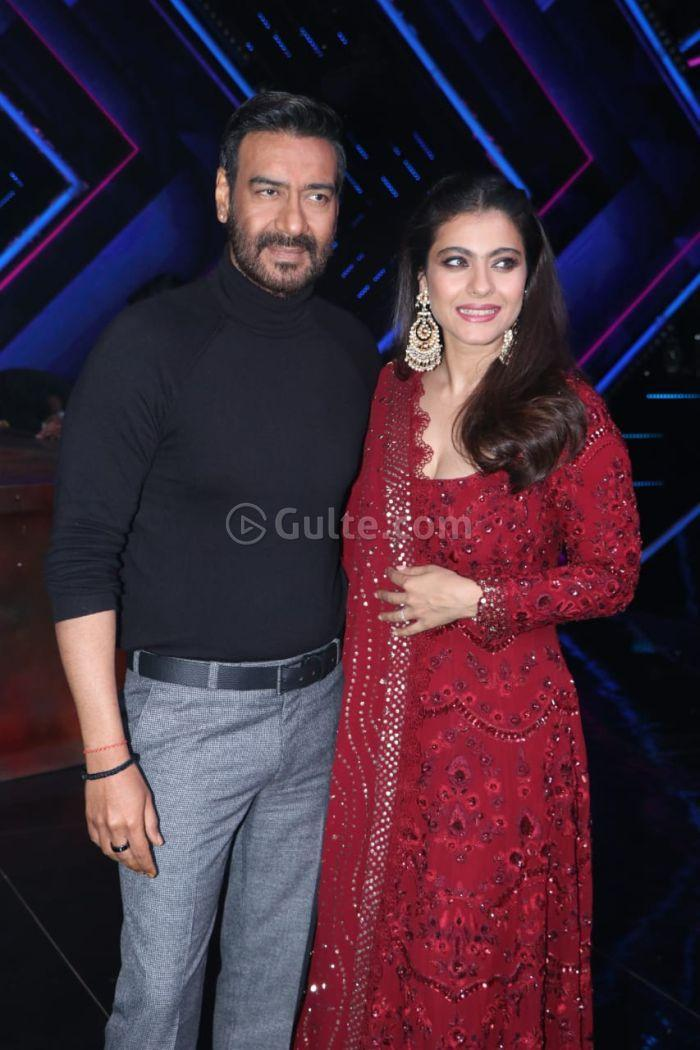 5e12d33bc8ea8 Kajol and Ajay Devgn on the sets of Dance Plus 5 10