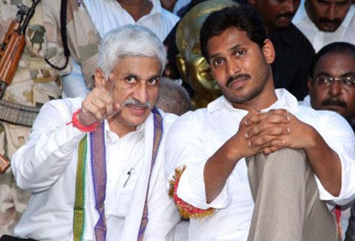Jagan Removes Vijay Sai Reddy From Key Post | Gulte - Latest Andhra Pradesh, Telangana Political and Movie News, Movie Reviews, Analysis, Photos