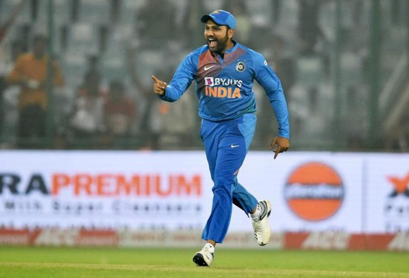 Image result for <a class='inner-topic-link' href='/search/topic?searchType=search&searchTerm=ROHIT SHARMA' target='_blank' title='rohit sharma-Latest Updates, Photos, Videos are a click away, CLICK NOW'></div>rohit sharma</a> the First Indian to play 100th T20I