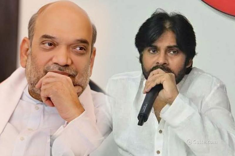 Pawan Kalyan's BJP Chant Cracking AP Poitics