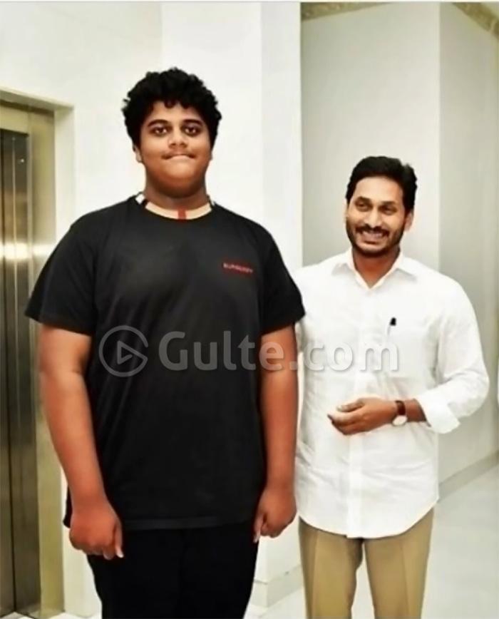 Pic Talk: AP CM Jagan with KTR's son   Gulte - Latest Andhra Pradesh,  Telangana Political and Movie News, Movie Reviews, Analysis, Photos