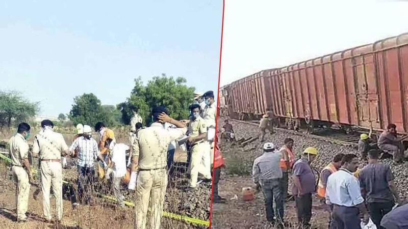 Maharashtra: Workers left from Corona, Ronda in rail, 16 dead!- Soochna