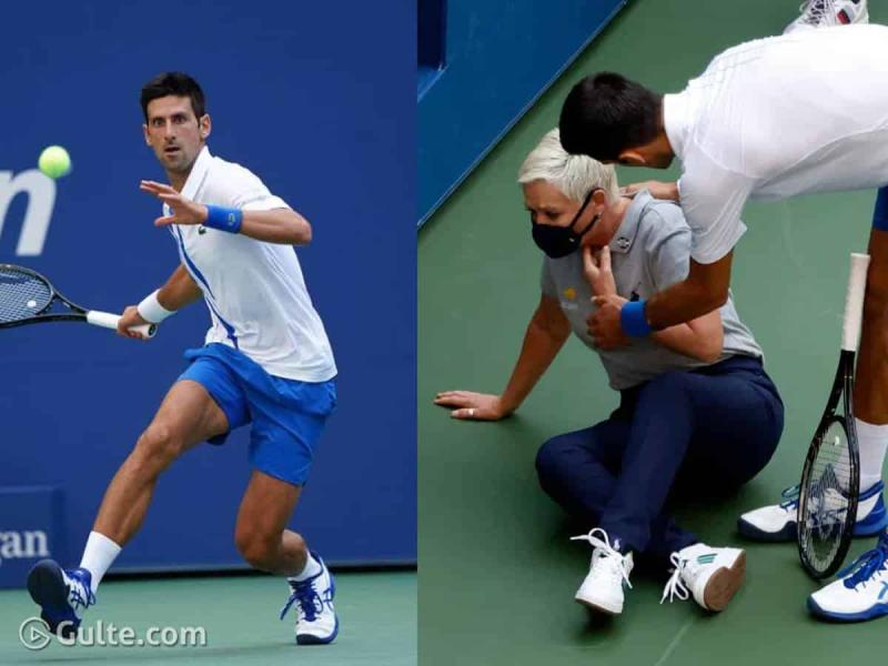Why Was Tennis Legend Novak Djokovic Kicked Out Of Us Open Gulte Latest Andhra Pradesh Telangana Political And Movie News Movie Reviews Analysis Photos