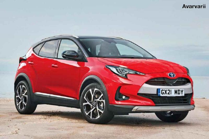 Image result for Toyota's Yaris based Compact SUV Coming This Year
