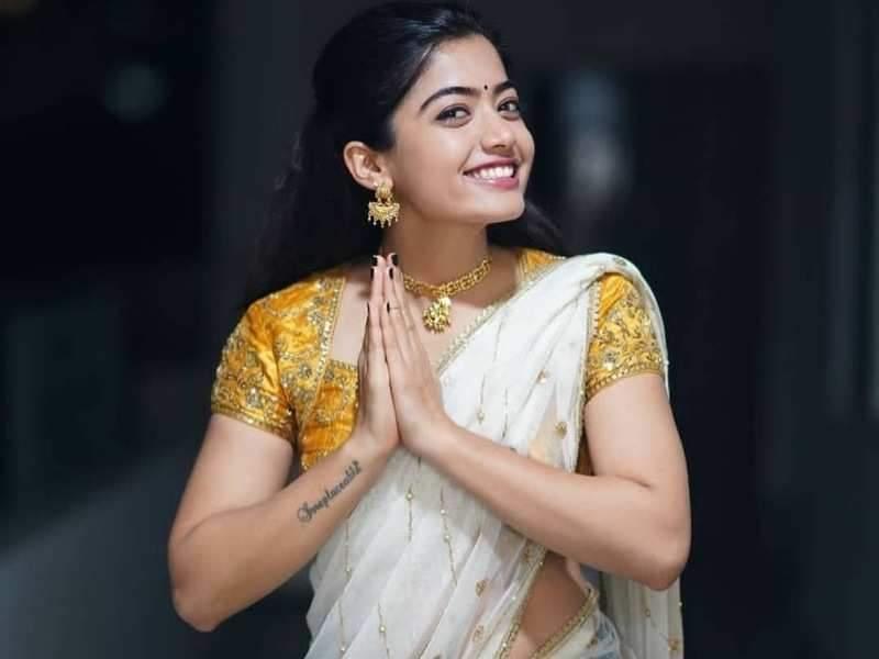 Image result for rashmika mandanna .