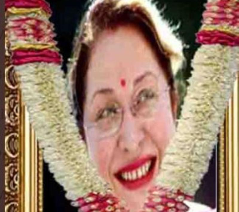 Image result for राज कपूर की बेटी ऋतु नंदा का निधन