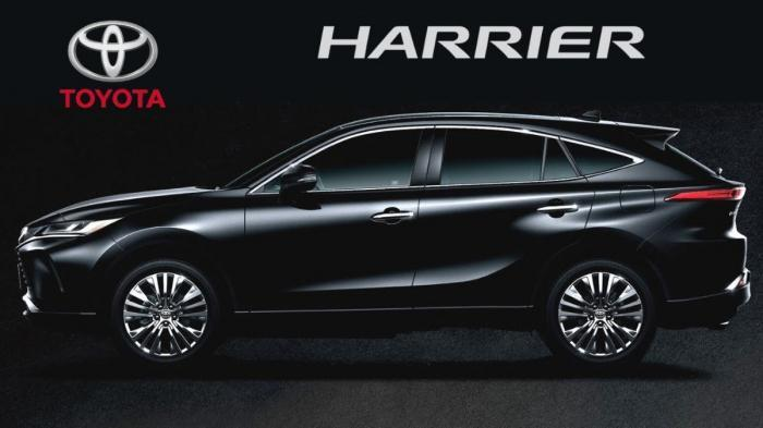 Toyota Harrier Competition Suv Coming Soon