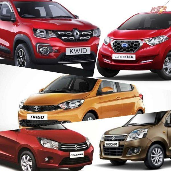 Best automatic cars under 6 lakhs in India