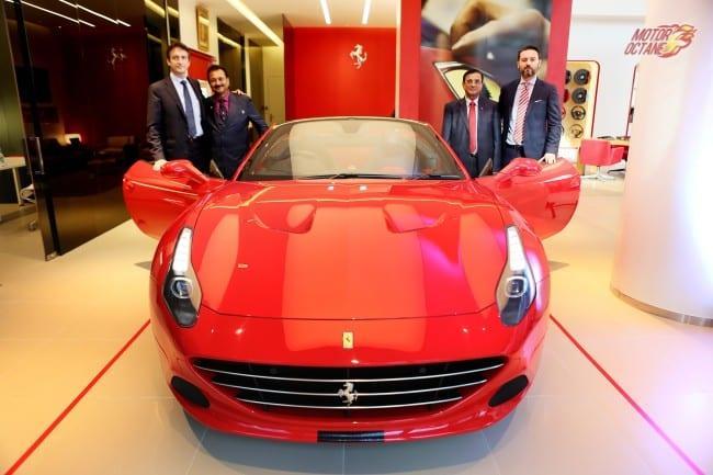 Ferrari Opens Its New Mumbai Dealership